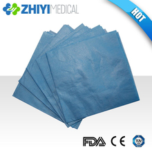 disposable bib with pocket